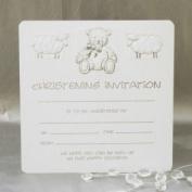 Christening Invitations - Pack of 10