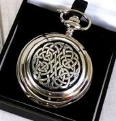 Celtic Neverending Knot Pocket Watch