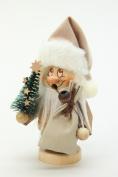 Christian Ulbricht Smokerman Dwarf Santa with Tree Small
