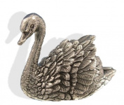 Sterling Silver Swan Figure. Silver Animal Figures.