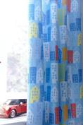 Catherine Lansfield Trucks Curtains 66x72