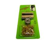 Set-It-Yourself Brass Eyelet Kit - Size 1 - 7mm inside diameter