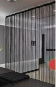 A-Express® String Curtains Door Fly Screen Windows Divider Patio Net Fringe - black