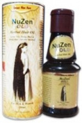 Nuzen Gold Herbal Hair Oil - 100% Pure Herbal Hair Oil , Grows New, Dense, Dark & Strong Hair, Prevents Dandruff,100% Ayurvedic and can be used both by Men & Women - 100ml