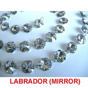 Labrador 1 metre 30% lead crystal Strands for Chandelier, Ceiling light, Feng shui, Christmas Tree , Window display, Wedding Display, Curtains ..