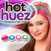 Hot Huez Temporary Hair Chalk-Set of 4 Colours