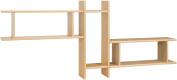 Posseik 9920 65 Shelf Unit with 3 Shelves Imitation Maple