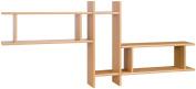 Posseik 9920 08 Shelf Unit with 3 Shelves Imitation Beech