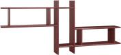 Posseik 9920 22 Shelf Unit with 3 Shelves Imitation Walnut