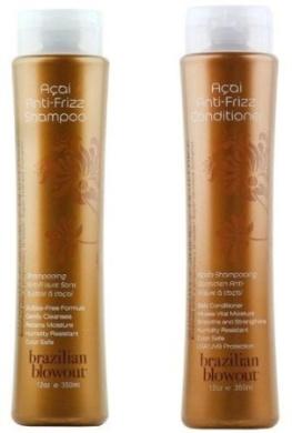 Brazilian Blowout Anti-Frizz Shampoo & Conditioner 350ml bottles