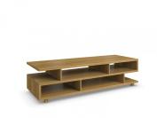 Jitona Jazz Small Asymmetric Shelf, Oak
