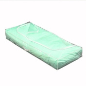 H & L Russel Underbed Chest, Clear Soft Touch, 109 x 46 x 15 cm