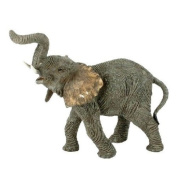 Elephant Standing With Twisted Trunk Ornament
