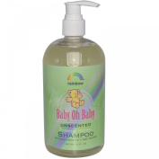 Rainbow Research Baby Oh Baby Unscented Organic Herbal Baby Shampoo 473 ml