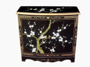 Oriental Chinese Furniture - Blossom 2 Door Hall Cabinet