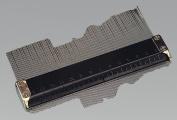 "125mm 6"" Metal Professional Contour Profile Gauge Tiles carpet flooring"