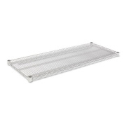Alera® - Industrial Wire Shelving Extra Wire Shelves, 48w x 18d, Silver, 2 Shelves/Carton - Sold As 1 Carton - Ideal storage solution for industrial and commercial use.