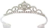 Perfect Pear Princess Rhinestone Crystal Tiara ~ Perfect Pageant Prom or Wedding