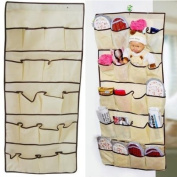 20 Pocket Over the Door Shoe Organiser Hanging Storage