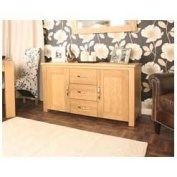 Aston Oak Furniture Large Sideboard