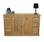 Six Drawer Sideboard Mobel Oak