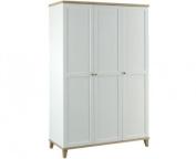 LPD Furniture Boston 3 Door Wardrobe
