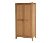 LPD Furniture Oakridge 2 Door Wardrobe