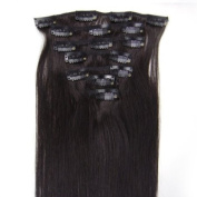 Straight Remy Human Hair Extensions 24 Colours for Your Choose in 38cm ,46cm ,50cm ,60cm ,Beauty Salon Women's Accessories