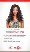 """Parisian Glam Wave HAIR 30cm 36cm 41cm 46cm +invisible Weave Part 5pcs Colour """"1"""