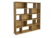Jitona Jazz Large Asymmetric Shelf, Oak