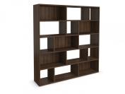 Jitona Jazz Large Asymmetric Shelf, Walnut