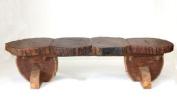 Farang Reclaimed teak wood bench