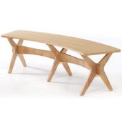 LPD Furniture Malmo Bench, In Oak