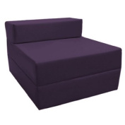 Z Bed Replacement COVER ONLY in Purple. Great for Indoors and Outdoors. Made from High Quality Water Resistant Material, Available in 10 Great Colours