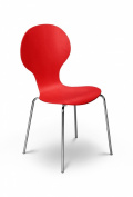 Julian Bowen Keeler Chair, Tomato