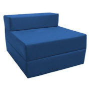 Z Bed Replacement COVER ONLY in Blue. Great for Indoors and Outdoors. Made from High Quality Water Resistant Material, Available in 10 Great Colours