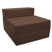 Z Bed Replacement COVER ONLY in Brown. Great for Indoors and Outdoors. Made from High Quality Water Resistant Material, Available in 10 Great Colours