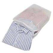 Peva Zipped Shirt Storage Bag to hold 5 Folded Shirts