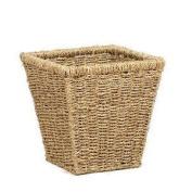 Seagrass Square Waste Basket