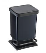 Rotho 7540 Paso Pedal Bin 20 Litres Carbon