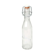 Swift Vintage Style Faceted Clip Top Bottle, 250ml
