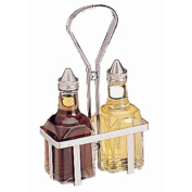 Cruet Rack Holds two 150ml jars (not included).