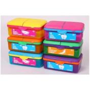 Sistema Itsy Bitsy Slimline Quaddie Lunch Box -
