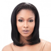 Chynah - Half Wig 41cm Length Natural Silky Straight Texture - 100% Human Hair