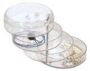 BlissHome, Interdesign, Swing Storage Box, Clear