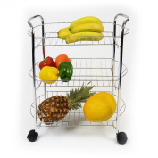 3 Tier Fruit And Vegetable Kitchen Trolley