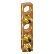 Zeller 13565 Wine Rack 13.5 x 12.5 x 53 cm Bamboo