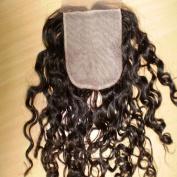 Virgin Brazilian Remy Hair Silk Top Lace Closures Cruly (10cm x10cm ) Grade AAA