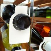 Wine Bottle Neck Tags Plastic x 100