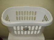Casa Hipster Laundry Basket - White